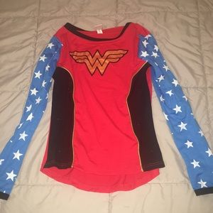 Other - Halloween Girls Wonder Woman Top